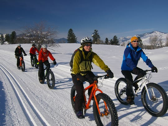Fat bikes are allowed on a few of the Methow Trails in north central Washington near Winthrop.