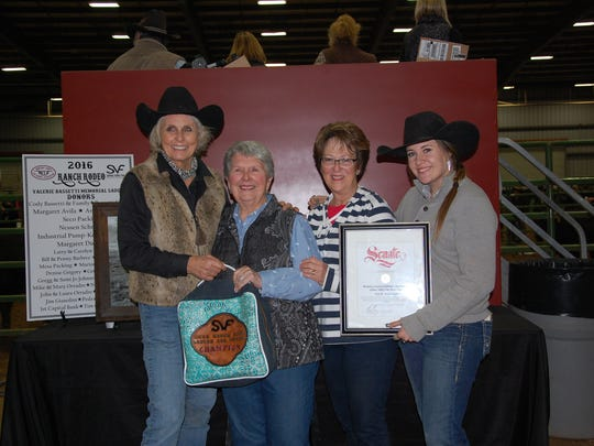 Winners at the Ranch Rodeo