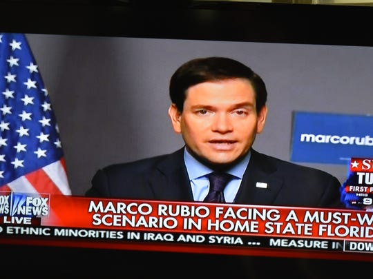 Marco Rubio appears on Fox News Tuesday morning.