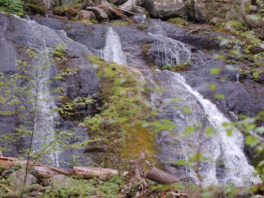 Waterfalls have a cooling effect on their surroundings.