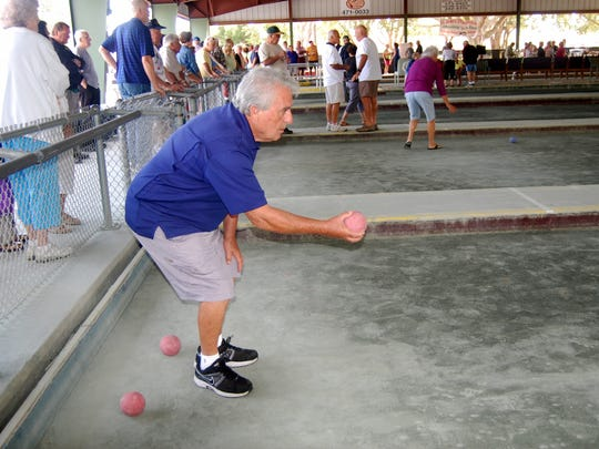 Veterans Park has bocce courts to keep you entertained.