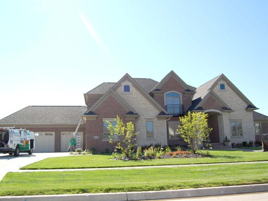 This Ankeny home sold for $1.05 million.