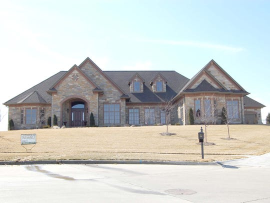 This West Des Moines home sold for $1.9 million.