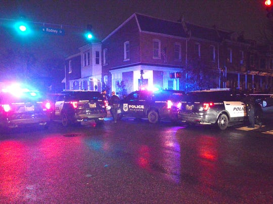 Wilmington police were in the area of 2nd and Rodney streets investigating a shooting in January 2017. A then 33-year-old man was shot in his torso and leg.