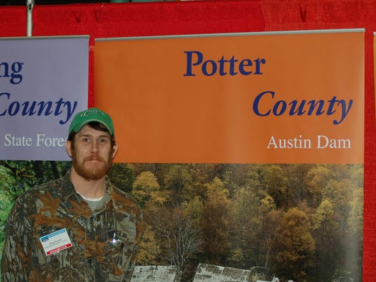 Potter County had an exhibit at the Great American Outdoor Show last year.