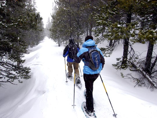 The Udder Snowshoe Race and Tour will be Saturday at