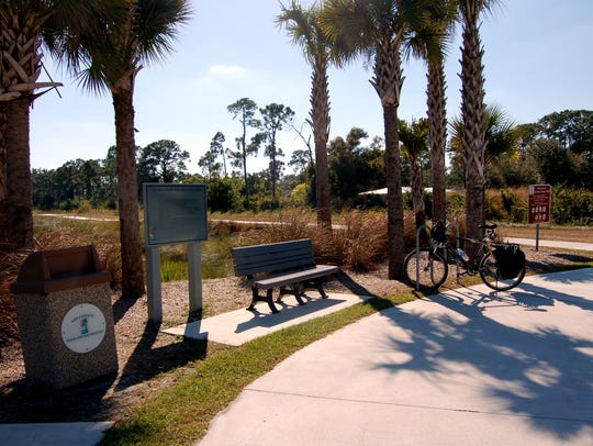 The John Yarbrough Linear Park Trail is a six mile