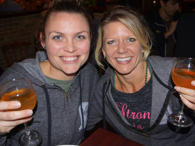 Anna Best and Donna Davis at the Belgian Beer Fest