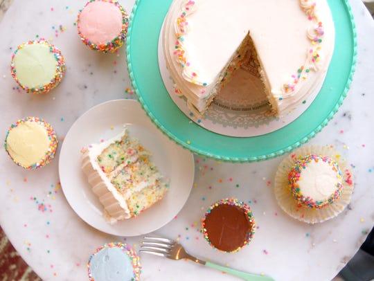 Confetti cake from Magnolia Bakery
