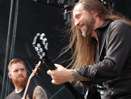 In Flames at Fort Rock 2017