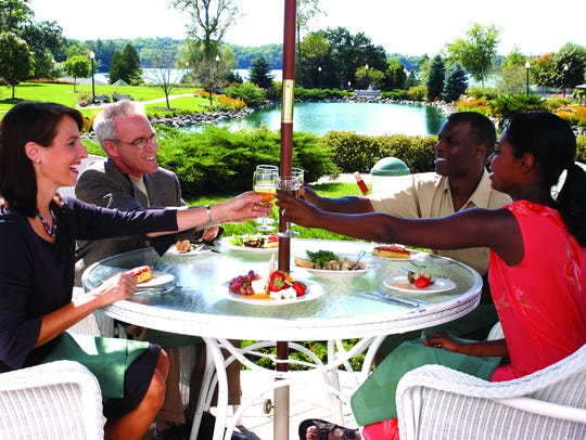 The Osthoff Resort features two restaurants for dining.