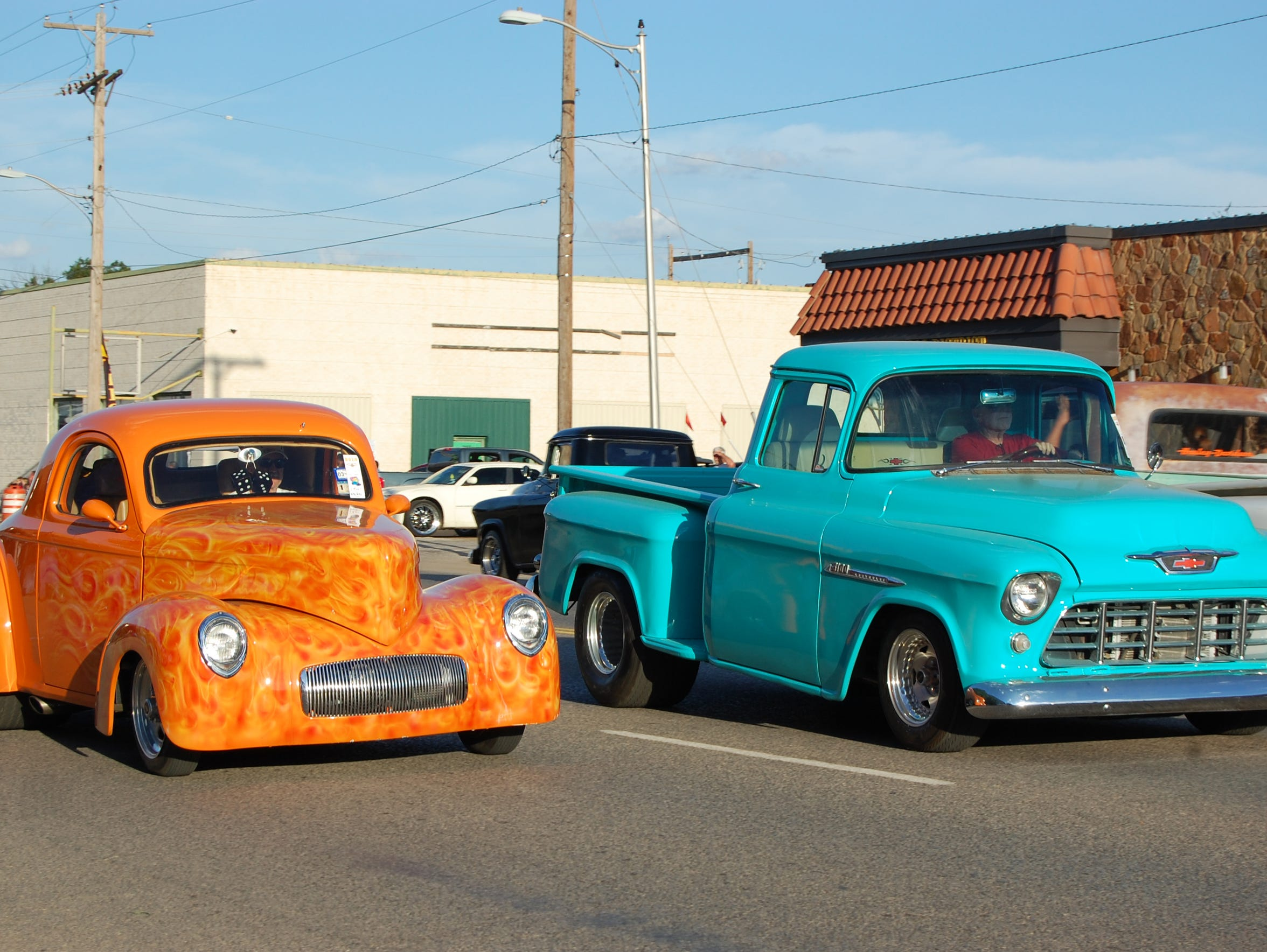 Classic cars will take over Wilbarger Street in Vernon