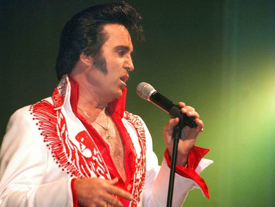 VERNON – Elvis tribute artist Kraig Parker will bring