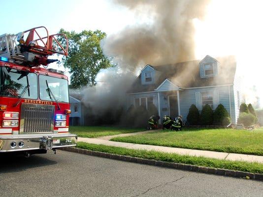 Bergenfield fire August 27, 2017
