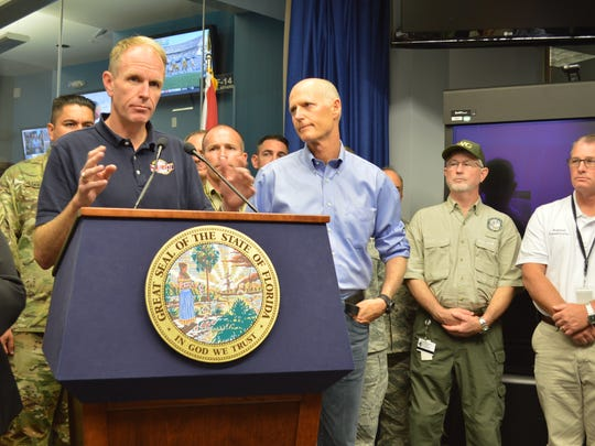 Bryan Koon is leaving his role as head of the Florida of the Division of Emergency Management Sunday.