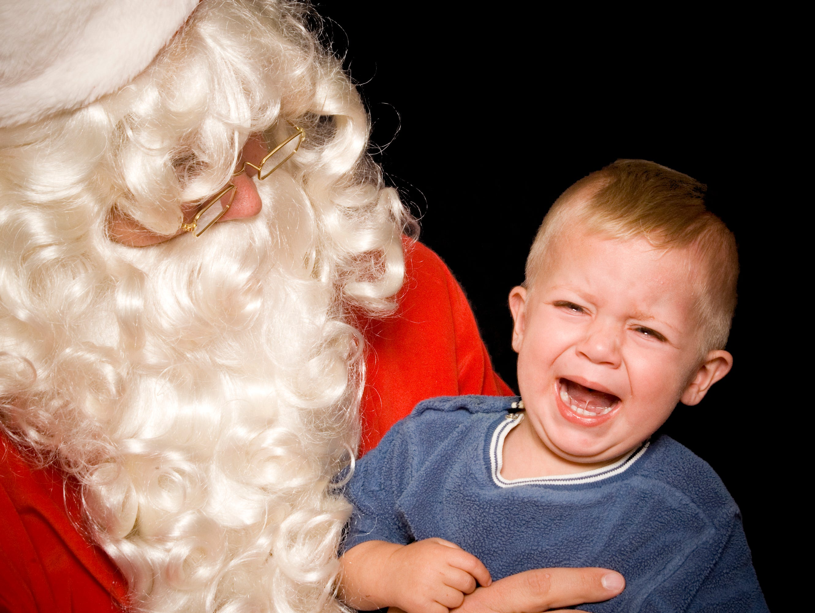 Is your child scared of Santa?  Do you have a picture of it?  Submit it for a chance to win $500.