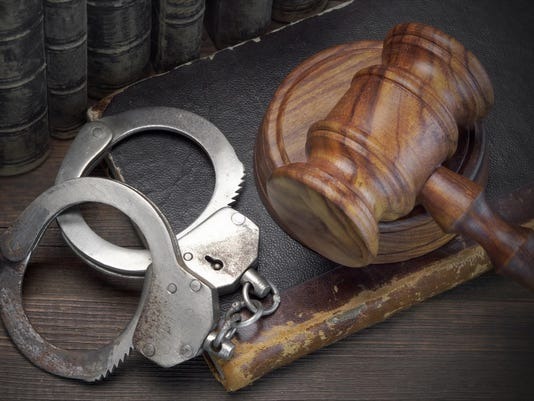Gavel-and-handcuff
