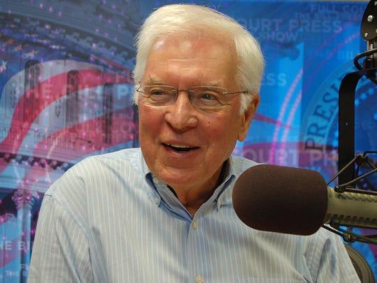 Progressive commentator and Delaware City native Bill Press