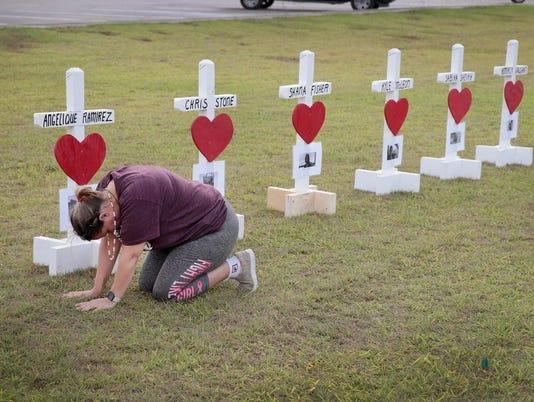 *** BESTPIX *** Deadly Shooting At Santa Fe High School In Texas Leaves 10 Dead