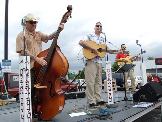 Philadelphia-area rockabilly band The Open Road will