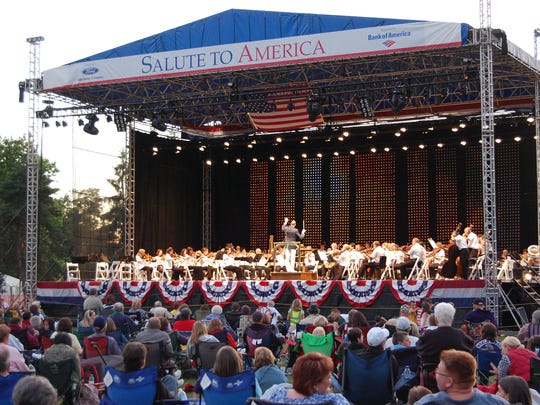 "The ""Salute to America"" concerts are a Fourth of July"
