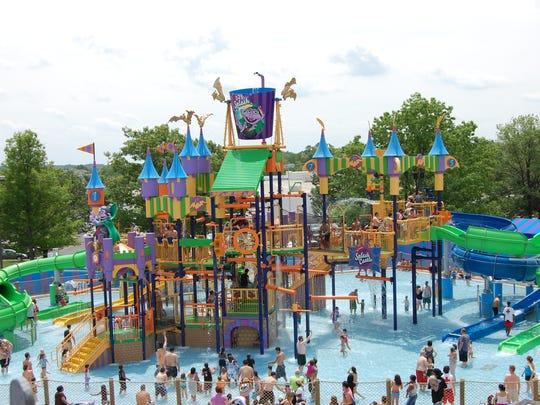 Count's Splash Castle, Sesame Place, Langhorne, Pa.