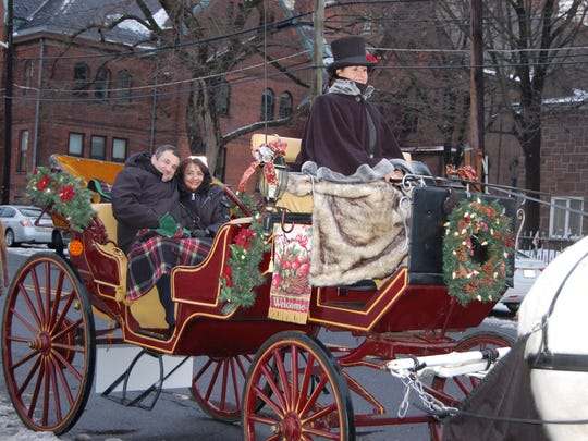 Carriage rides in New Brunswick.
