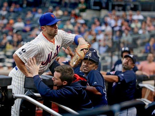 Mets vs. Braves July 10 2014