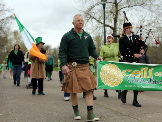 Dawn your green and adventure through downtown Salem with the free St. Patrick's Celebration Parade 11:30 a.m. March 11. Meet at Salem's Riverfront Carousel.