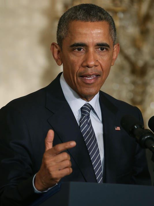 President Obama Unveils Clean Power Plan At White House