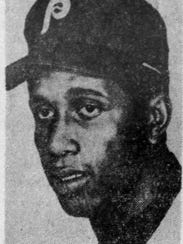 A 1972 picture of Oscar Gamble.