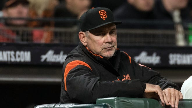 Bruce Bochy is now resting at home and is expected to rejoin the team in Colorado on Friday.
