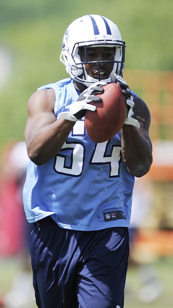 Titans rookie linebacker Avery Williamson.