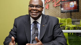 McDonald's Don Thompson in 2010, as he prepared to take the CEO job.