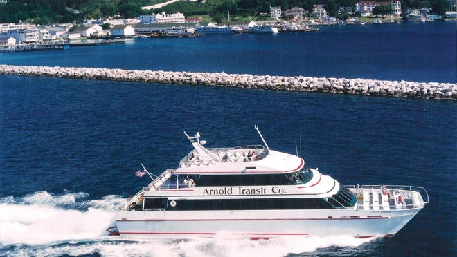 Five of Arnold Transit's ferries will be sold and operated by Star Line. The firm also will run the Huron, a steel hull passenger vessel that has been the only water transportation for Mackinac residents and visitors in the winter since 1955.