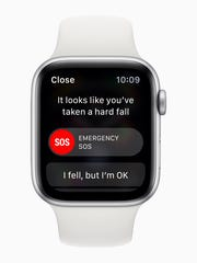 The new Apple Watch Series 4 can detect a fall and if need be summon help.