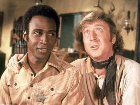 Gene Wilder (right, with Cleavon Little)