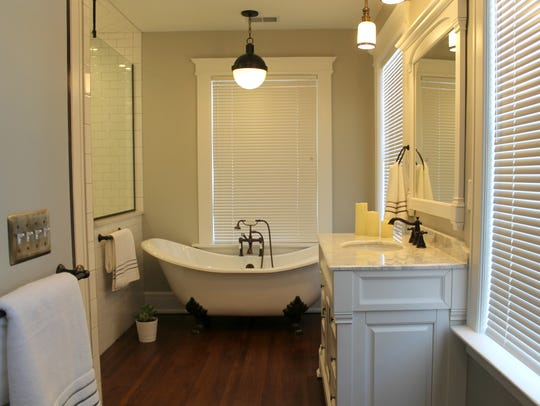 A completed bathroom inside 149 Virginia Park Street,
