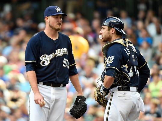 MLB: Toronto Blue Jays at Milwaukee Brewers