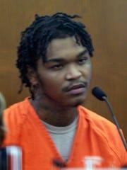 Divonte Forbes testifies in in the trial of Carl Barrett