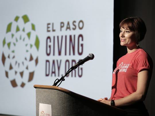 El Paso Giving Day coordinator Kimmy May in August