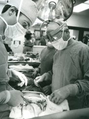 The first heart transplant at Jewish Hospital was in