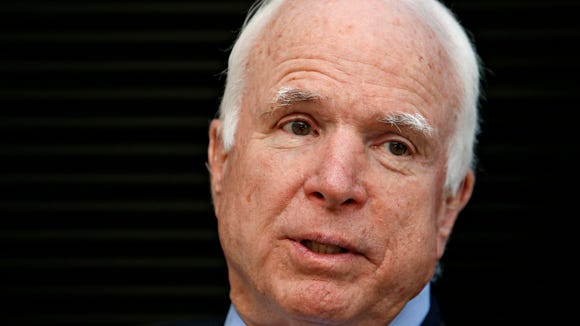 Sen. John McCain, R-Ariz., who is seeking a sixth U.S. Senate term, is maintaining his fundraising advantage over his Democratic and Republican opponents.