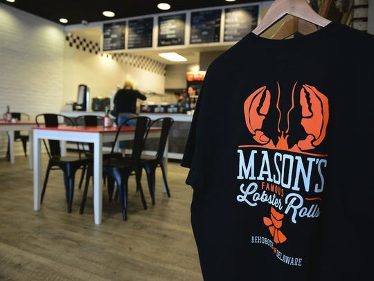 Mason's Famous Lobster Rolls in Rehoboth Beach opened