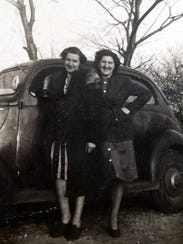 Susan Manzke's Aunt Sophie (left) poses with her sister,