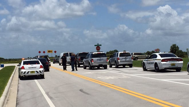 Palm Bay Police along with personnel from the Brevard County Sheriff's Office are on scene after a shooting left one person injured in the area of Emerson Drive and St. John's Heritage Parkway in Palm Bay on Sunday.