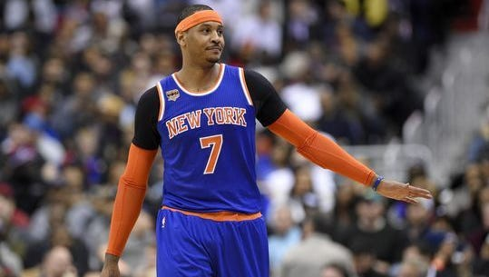 The Carmelo Anthony saga ended with the Knicks trading the star player to Oklahoma City.