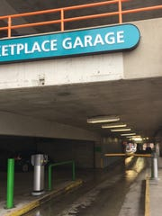 The Marketplace Garage entrance on Cherry Street is among Burlington's most popular destinations for local motorists, according to a recent study.