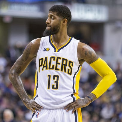 Paul George's looming contract status has some Pacers