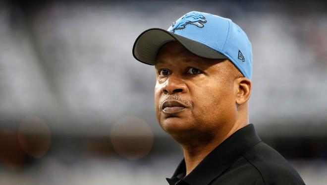 Lions coach Jim Caldwell.